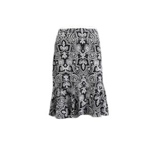 CHAPS PAISLEY STRETCH SKIRT